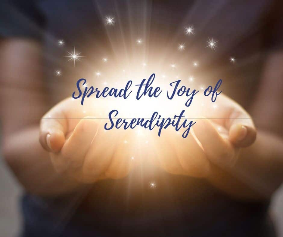 Spread the Joy of Serendipity, Made You Smile Back, Make You Smile, Made Ya Smile, Smile