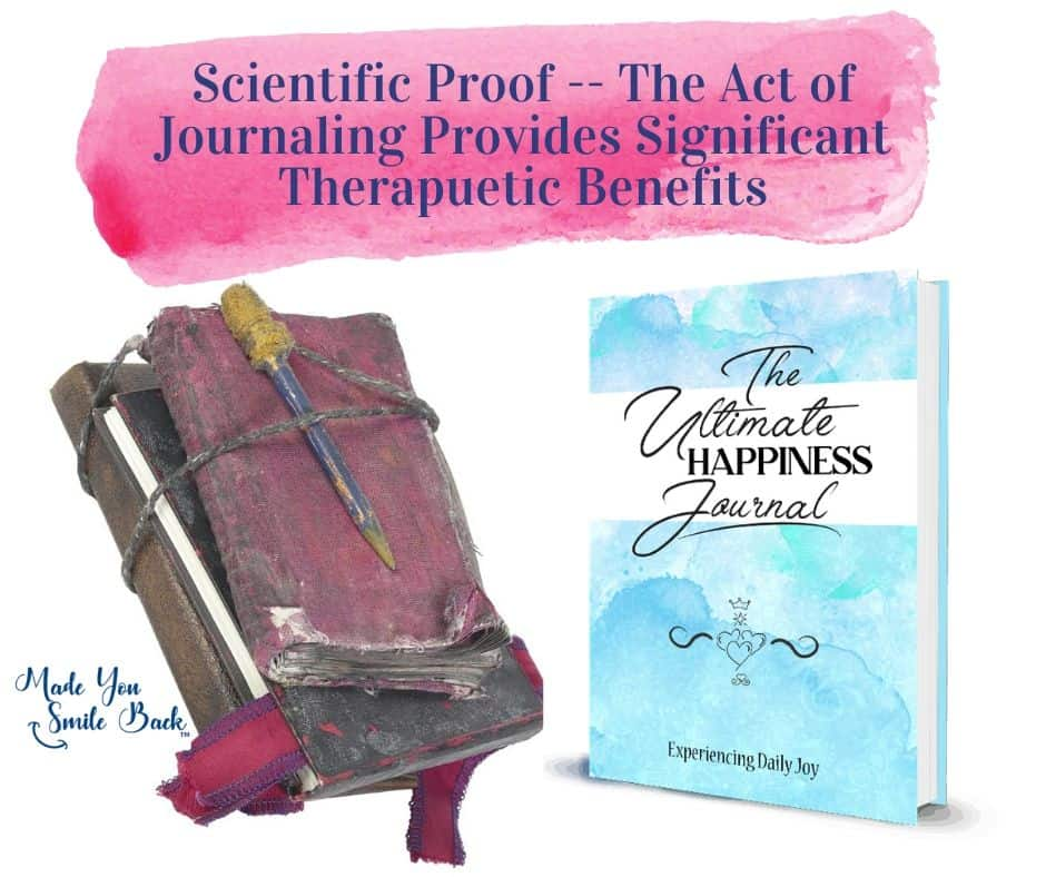 Scientific Fact - Journaling is Lifechanging, Made You Smile Back
